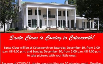 Santa Claus is Coming to Cotesworth!